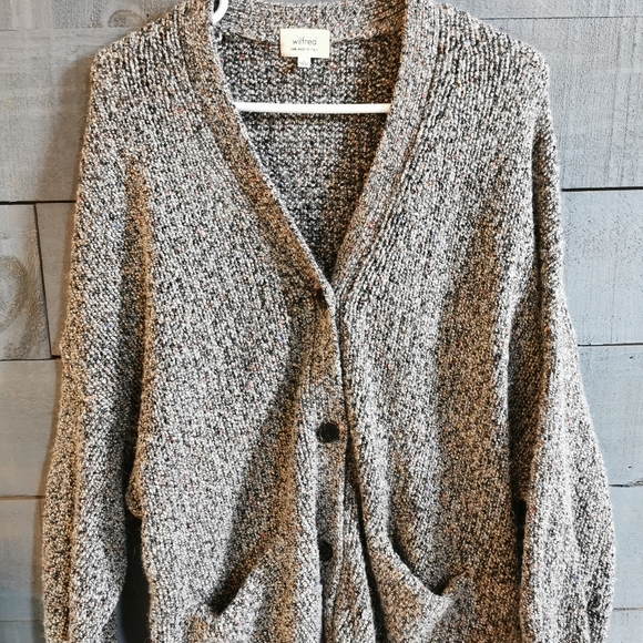 Wilfred Wool Oversized Cardigan
